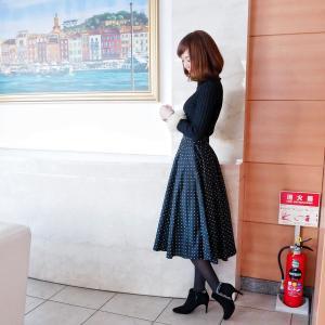 500円♡UNIQLOのスカートでレディなスタイルアップコーデ♡
