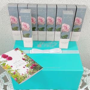 食べられるバラを使用したエイジングケアもできるハンド美容液