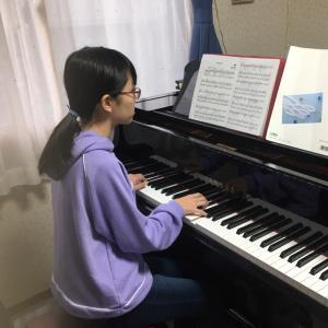 卒業式の演奏曲練習