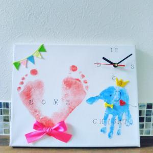 ららぽーと甲子園 赤ちゃんから参加できる世界に一つの時計づくり