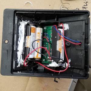 ソーラーライト充電池タイプ変更