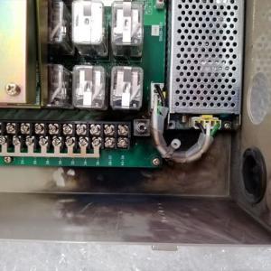 切断機用ラジコン・落雷不良の修理