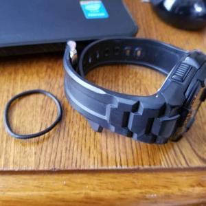 腕時計の余長バンドをOリングで代用