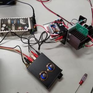 TDA7293パワーアンプの電源検証