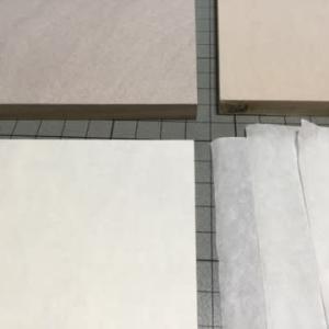 小品を描く…パネルと紙