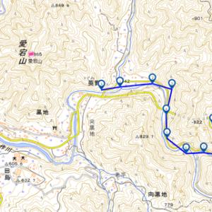 沢登り 小戸名渓谷 20200917
