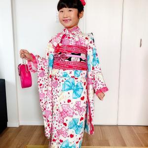 7歳さん♡大好きなピンクコーデ