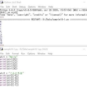 Python-文字列の操作-2