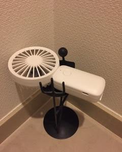 トイレも暑い