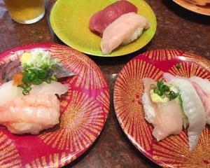 寿司が回ってない回転寿司屋