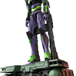 RG エヴァンゲリオン 汎用ヒト型決戦兵器 人造人間エヴァンゲリオン初号機とDX輸送台セット 【プラモ予約】