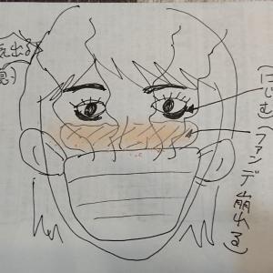 マスクしてると化粧崩れする問題(-_-;)