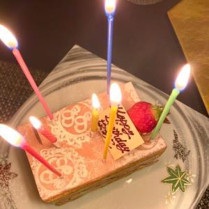 誕生日がやってきた!