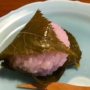 陽光桜が咲いてるって~~~エビスヤの桜餅食べなきゃ@高松