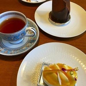 中からとろ~り、フィオレットのケーキは複雑♪ @高松