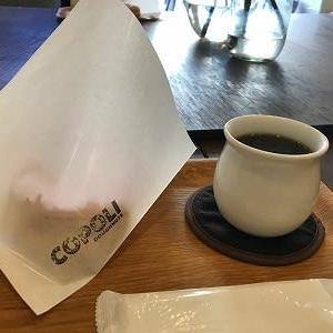 ドーナツとコーヒーのイートインは「こぽりのとなり」で@高松