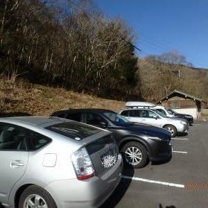 島外ナンバー多し、名頃駐車場@徳島県