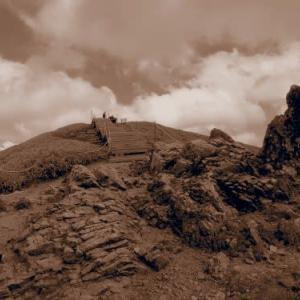 ジロウギュウから剣山を周回登山@徳島県
