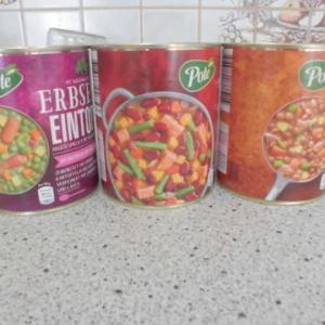 買い置き缶詰スープ