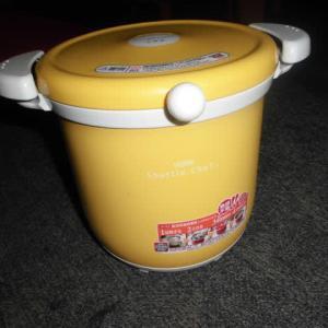 保温調理器を初めて使ってみたが、炊飯に関してはここでは圧力鍋が一番いいかも
