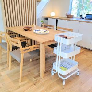 IKEAのワゴンが神だった。一家に一台!?フレキシブルに使える家事楽アイテムでしたヾ(*´∀`*)ノ