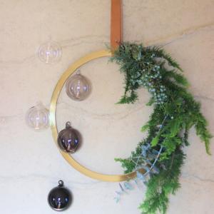 クリスマスインテリア2019 玄関編! やっと叶った憧れの光景と癒しのリース。