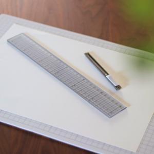 無印でこんな新商品を発見! 折りたためるシンプルな文具が便利ですヾ(o´∀`o)ノ