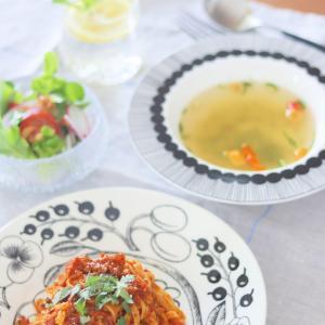 【カルディ】この夏の大ヒット!!最高に美味しいスープ見っけ~! お得な生パスタもヾ(*´∀`*)ノ