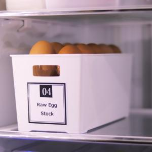 【セリア】これは卵パックのためのもの!? 驚きのジャストサイズのケースで冷蔵庫収納をプチ改善♪