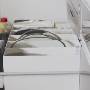 【無印】ピッタリ感動の引き出しキターーー! ハマった調理グッズのために改善した収納♪