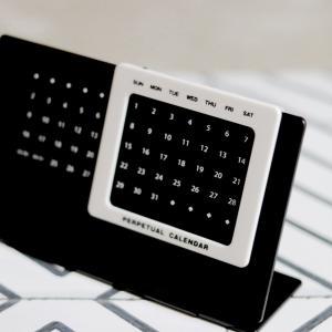 【セリア】 早めにゲット!来年のミニカレンダー BEST3 & 楽天で買いたいカレンダーはコレ!