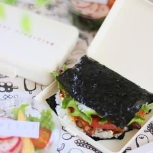 【100均】キャンドゥで発見!作ってそのまま運べる超便利な「おにぎらずケース」& ダイソーの溺愛グッズでお弁当!