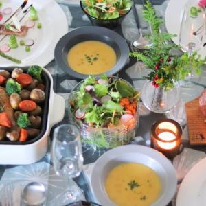 クリスマスディナー2018 ~大好きな北欧食器とブルーノとscopeさんの素敵ファブリックで~