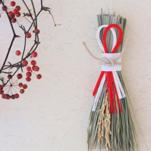 お正月準備も着々と。無印のお正月グッズと手作りリースでシンプルな飾りが完成ヾ(o´∀`o)ノ