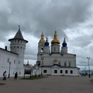ロシアでクルージング