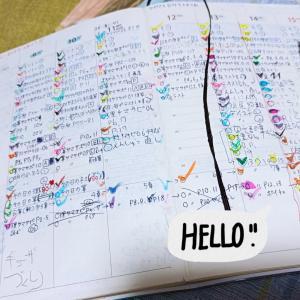 今週がんばった手帳【11歳1ヶ月】
