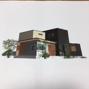 オフィス兼住宅建築