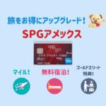 【SPGアメックス入門】更新時の無料宿泊特典と高還元率が魅力のマリオットボンヴォイのカード