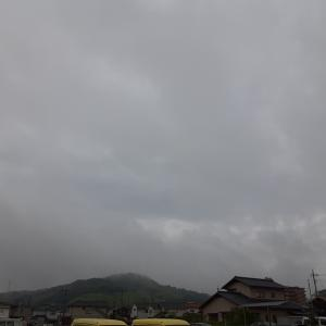 本日も曇天なり