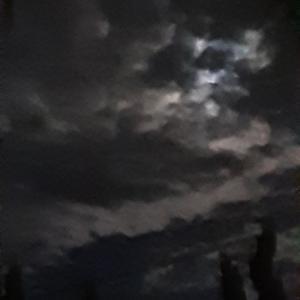 雲ってます