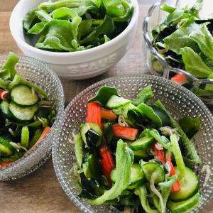初夏を味わう?!涼しげな北欧の器にサラダの常備菜