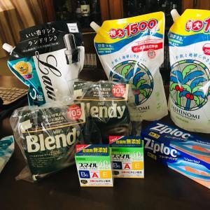 2020年コロナ禍の秋…楽天24での目薬やヤシノミ洗剤等の日用品のまとめて買い