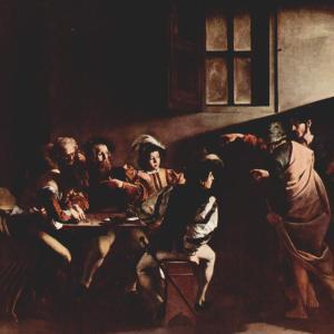カラバッジョ躍進の転換点「聖マタイの召命」