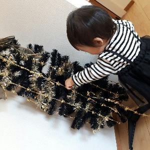 冬支度☆玄関はクリスマス~