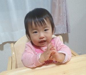 1歳今日のご飯&保育園で顔に傷