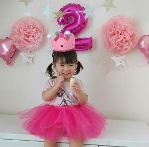 2歳お誕生日!プレゼント、ケーキ!イヤイヤと笑顔