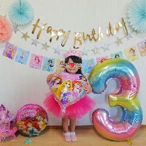 Happy Birthday♡3歳