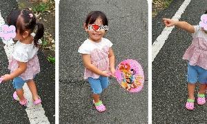 3歳・7歳お絵描き☆&消しゴムの謎
