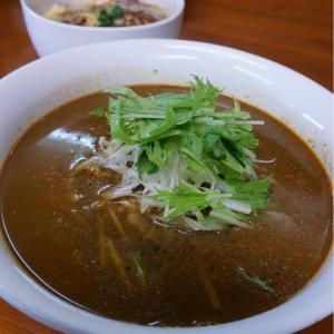 『四川野郎』やっぱり旨い!担々麺と麻婆豆腐丼!
