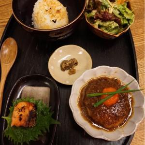 『日本茶カフェ 風樂』やっぱり美味しい豆腐ハンバーグとざる豆腐、そして今焼きおにぎり!